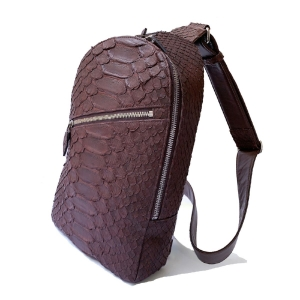 LE'SAC bag Python leather